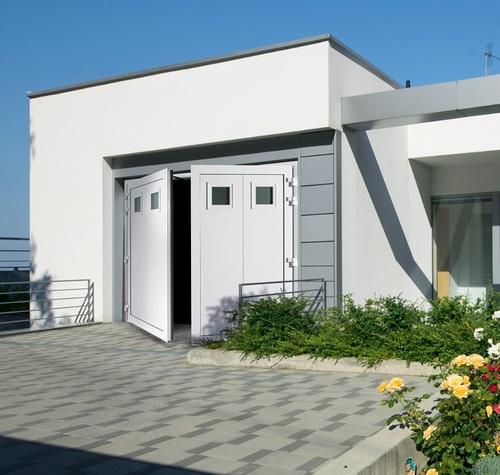 Porte garage battante Aludoor -Cotres d''Armor