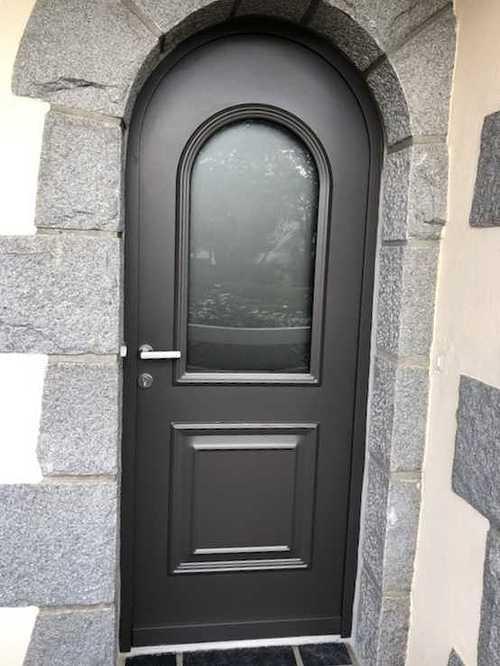 Rénovation de portes d''entrée en contre dormant cintré img4722