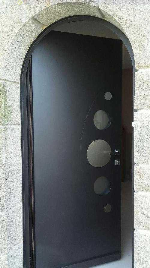 Rénovation de portes d''entrée en contre dormant cintré img4747