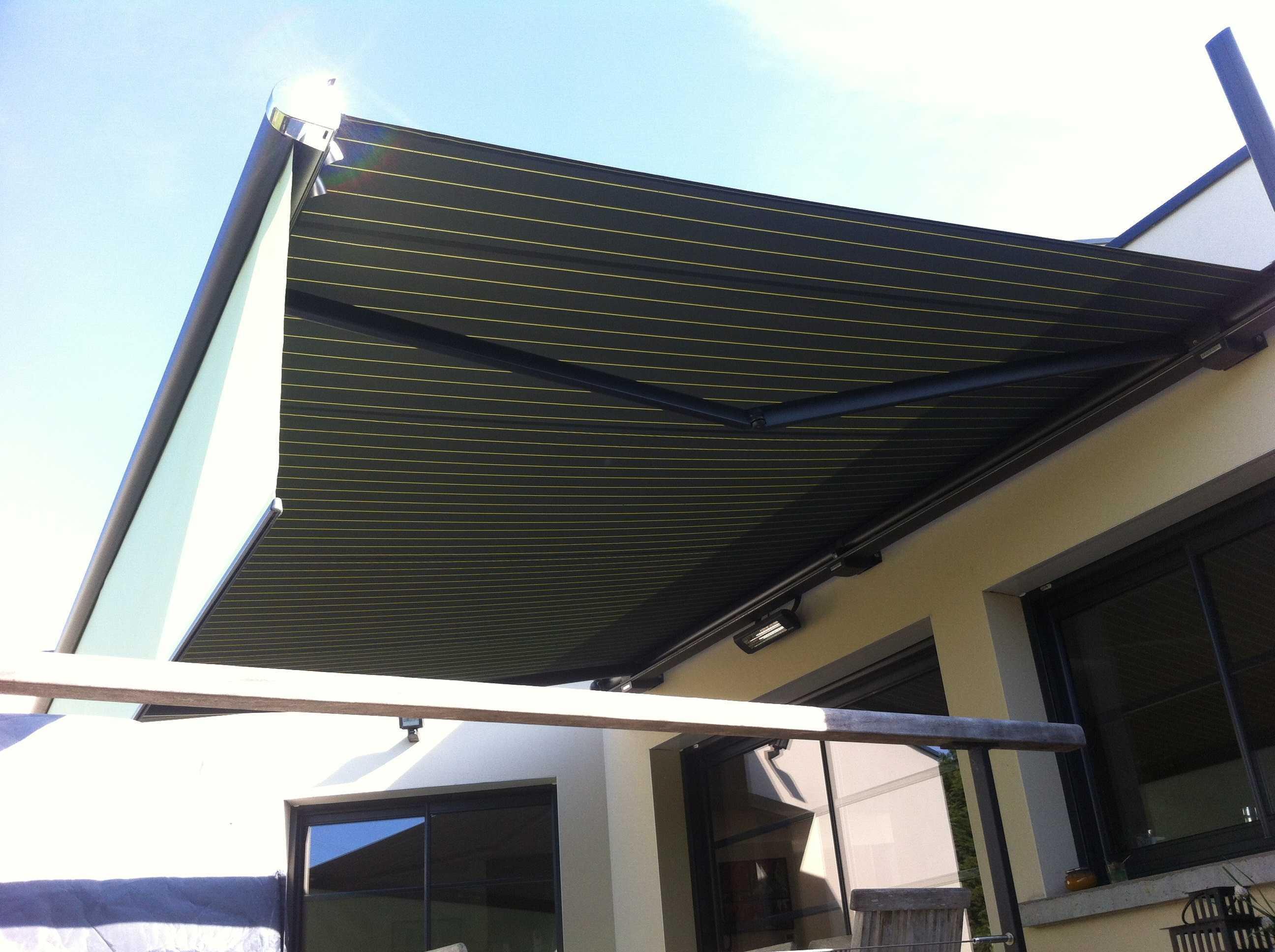 Store ext rieur pour terrasse morieux et lamballe menuiserie - Stores pour terrasse ...