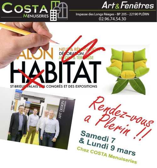 Annulation du salon de l''Habitat : Journées Portes Ouvertes chez Costa Menuiseries