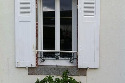 Fenêtre PVC -Cintre surbaissé - Menuiserie - Plérin(22 - Bretagne)