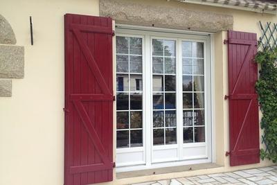 Fenêtres et portes fenêtres en PVC, menuiserie extérieure -Plérin