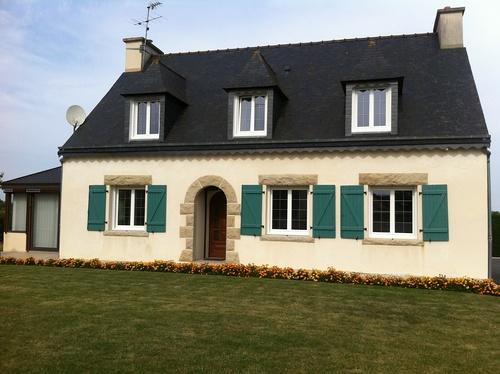 """Fenêtres PVC avec petits bois """"Canon de Fusil"""" - Saint-Alban"""