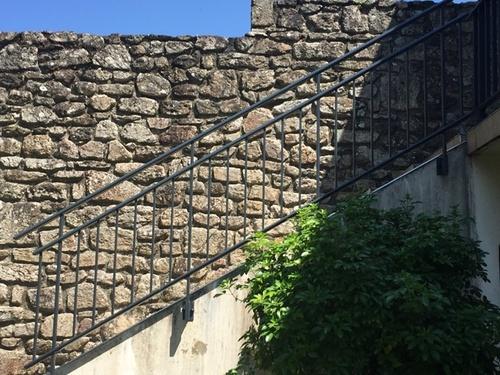 Garde-corps alu anthracite pour escalier et balcon