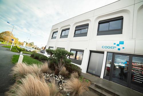 Menuiseries nouveaux bureaux de la COGEP - Langueux