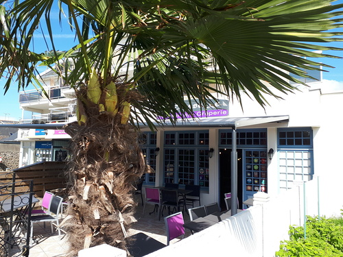 Pergola MARKILUX - restaurant / crêperie -Saint Quay Portrieux (Côtes d''Armor - 22)