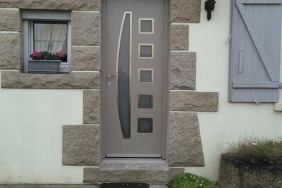 Personnalisez votre porte d 39 entr e en alu costa menuiseries - Portes d entree vitrees ...