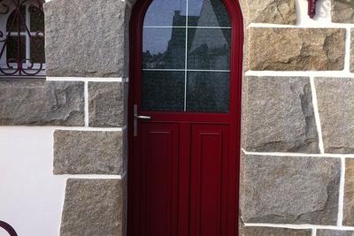Portes Fenêtres Baies Vitrées Et Fenêtres Alu Décoration Et - Porte de garage sectionnelle avec porte d entree pvc vitree