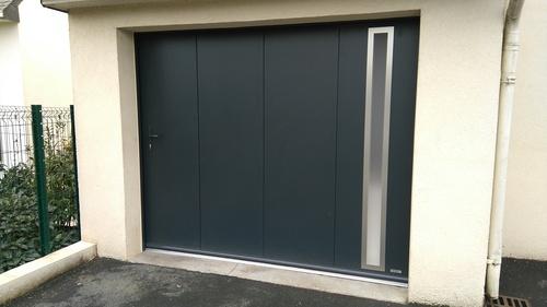 Porte de garage alu - Pordic