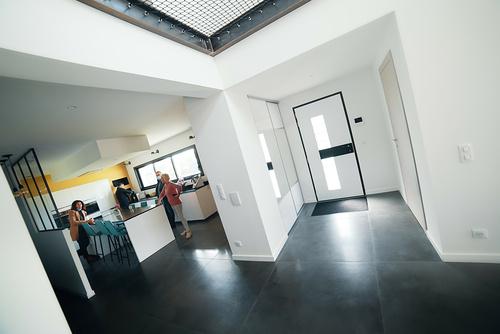 Portes, fenêtres, volets, porte de garage - Maison architecte- Pordic