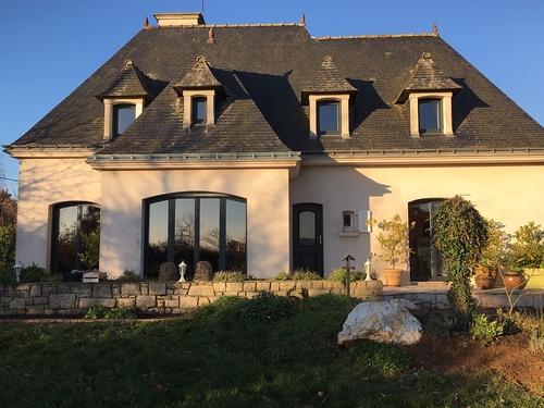 Rénovation fenêtres, porte entrée alu- maison Loudéac