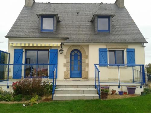 Rénovation menuiserie fenêtres alu et garde-corps alu - Hénanbihen -( Lamballe - 22 - Côtes d''Armor)