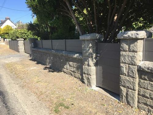 Rénovation du portail, portillon et clôture - Plérin
