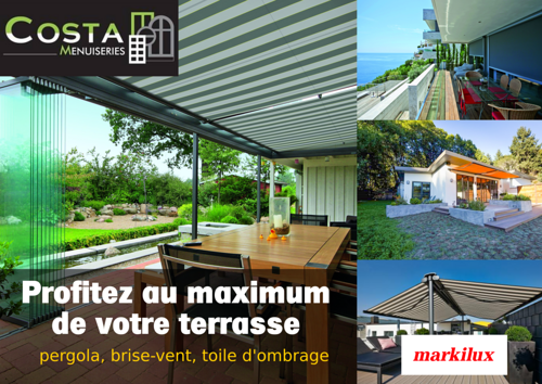 Store de protection terrasse: la gamme Markilux