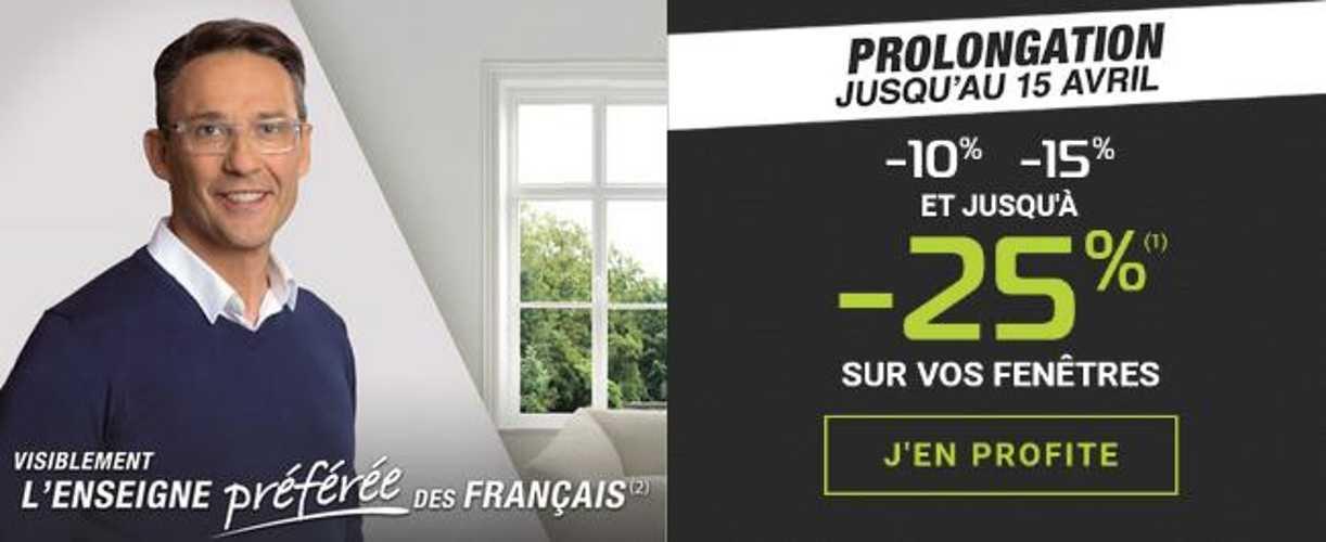 Costa Menuiseries : Jusqu''à - 25% sur vos Fenêtres - Prolongé jusqu''au 15 Avril 0