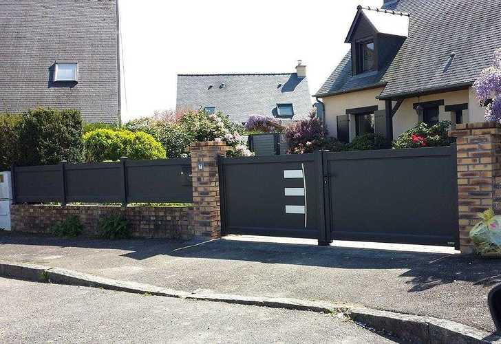 Changement : portail - porte de garage - porte d''entrée complicealizeeapres4