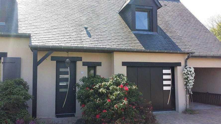 Changement : portail - porte de garage - porte d''entrée complicealizeeapres5