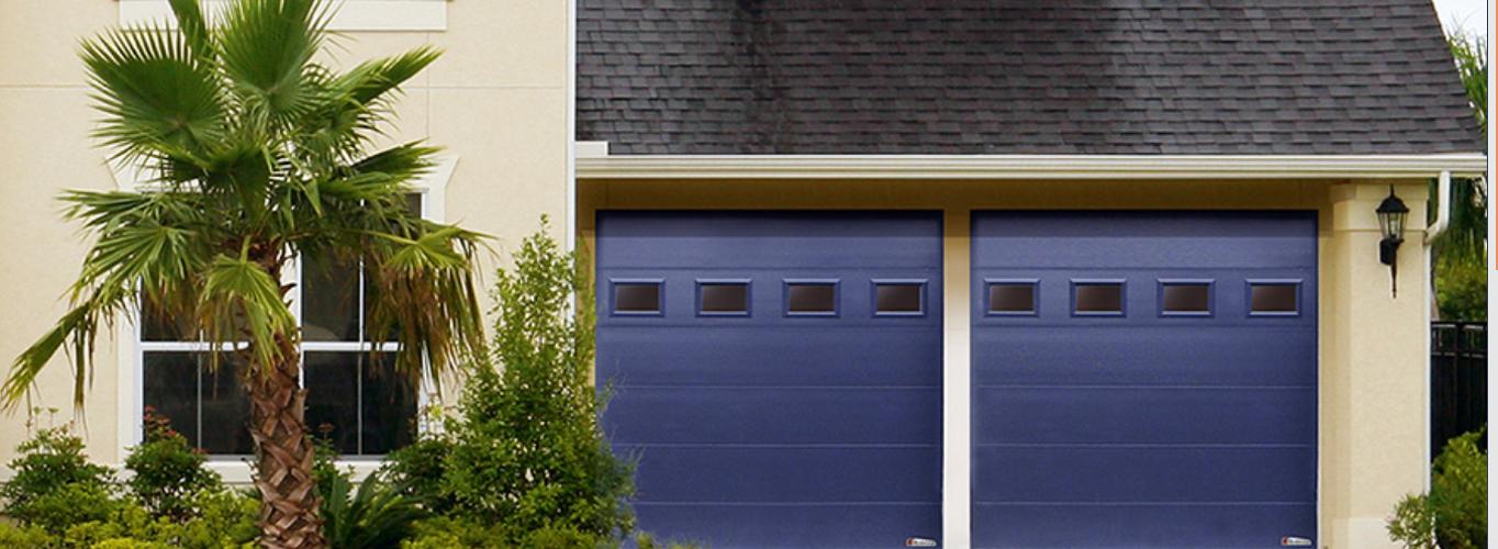 Porte de garage sectionnelles, portes battantes alu5