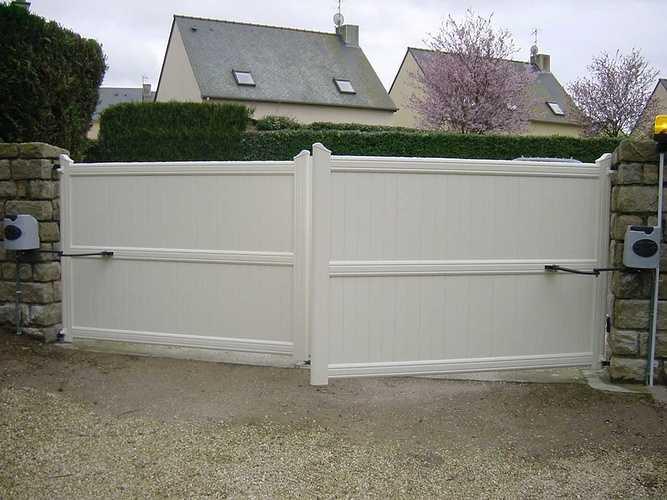 Portails PVC a158