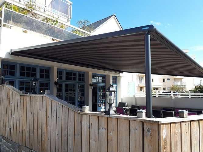 Pergola MARKILUX - restaurant / crêperie -Saint Quay Portrieux (Côtes d''Armor - 22) 201804171146381