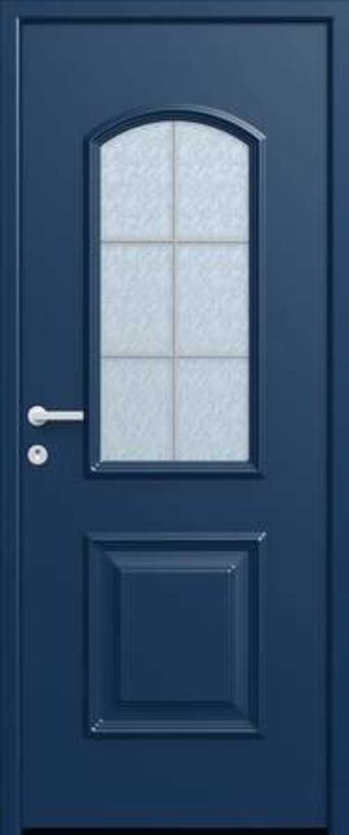 La nouvelle gamme de portes Monalu porte-entree-castille-monalu-petits-bois-centres