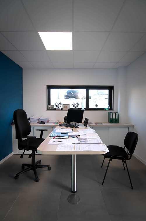 Extension des bureaux de l''entreprise Le Guern Maçonnerie - Plédran (22) dsc0563