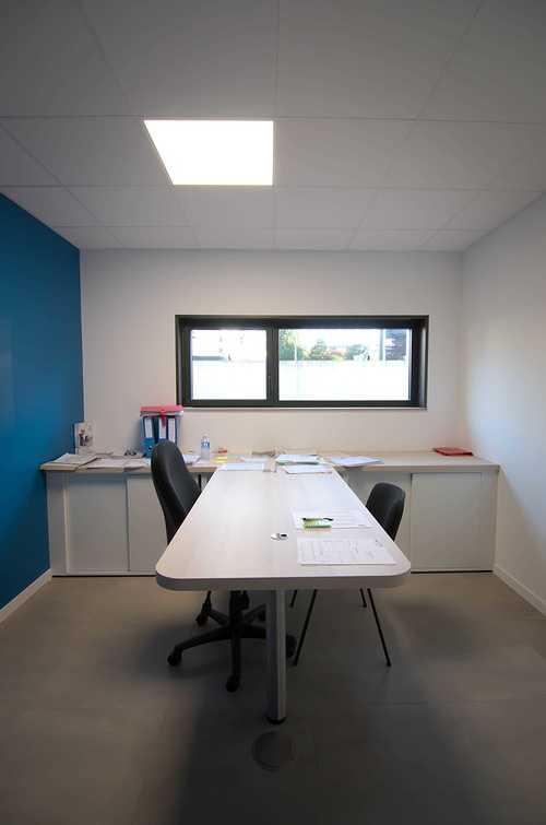 Extension des bureaux de l''entreprise Le Guern Maçonnerie - Plédran (22) dsc0570