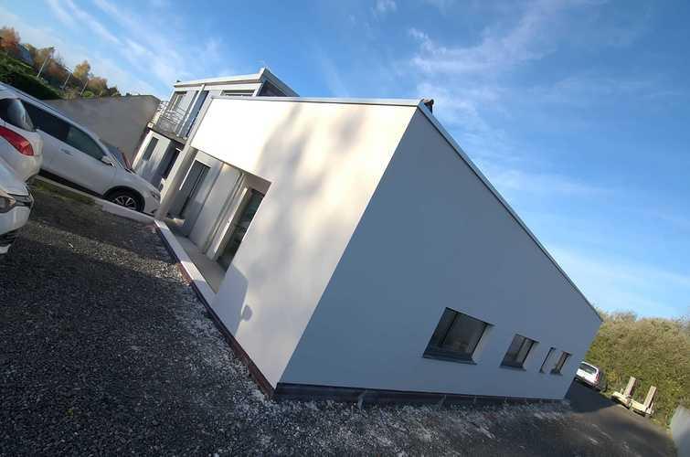 Extension des bureaux de l''entreprise Le Guern Maçonnerie - Plédran (22) dsc0591