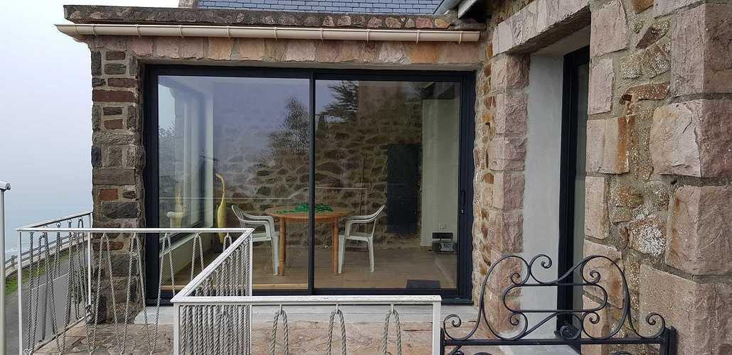 Rénovation menuiseries intérieures et extérieures - Pléneuf Val André (22) costa1
