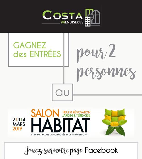 Costa Menuiseries au salon de l''Habitat de St-Brieuc 0