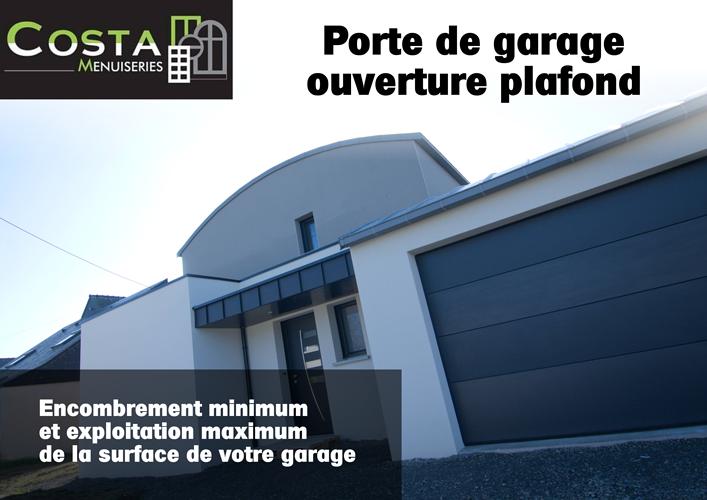 Porte de garage - ouverture plafond 0