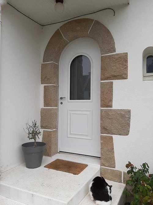 Portes d''entrée : esthétique, style, haute technicité et sécurité photo291