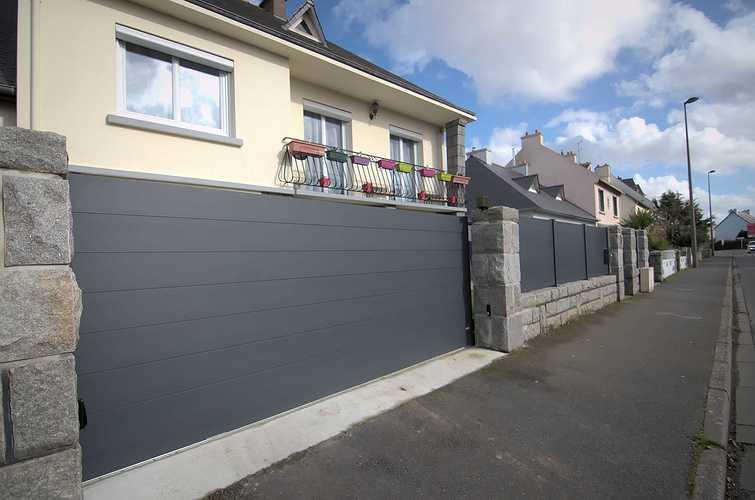 2019 : portails et clôtures gris sont tendance dsc7194