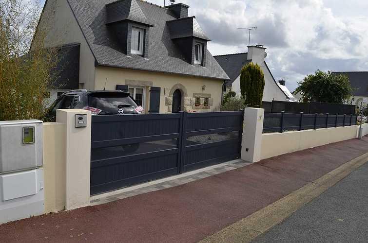 2019 : portails et clôtures gris sont tendance dsc9010