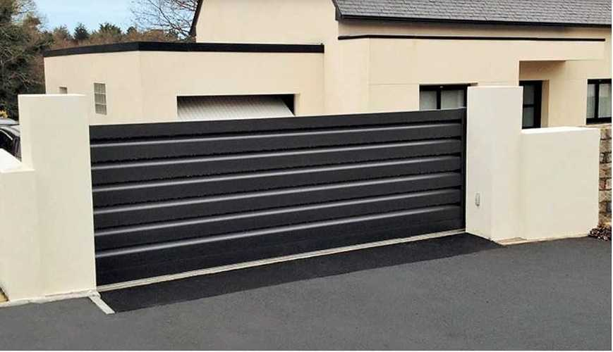 2019 : portails et clôtures gris sont tendance photo279