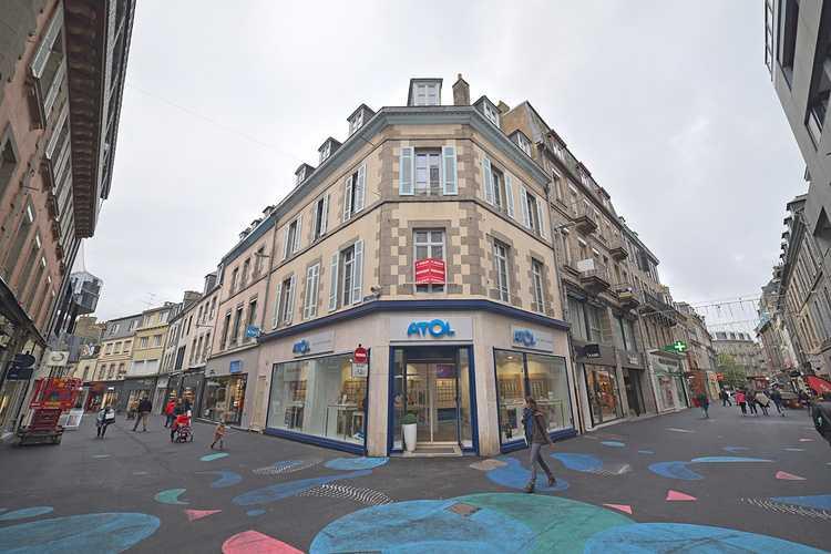 Rénovation fenêtres bois immeuble au centre ville de Saint-Brieuc 0