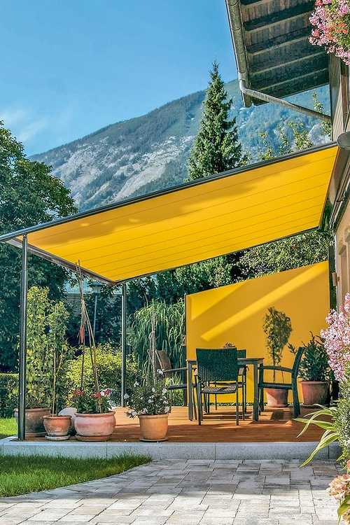 Store d''ombrage terrasse et coupe vent 0