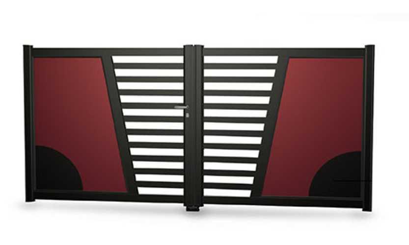 Portails alu gamme Art & Fenêtres - menuiseries alu kyoto2