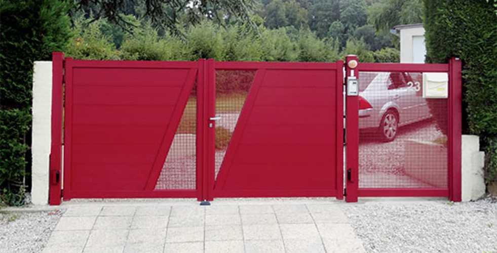 Portails alu gamme Art & Fenêtres - menuiseries alu 0