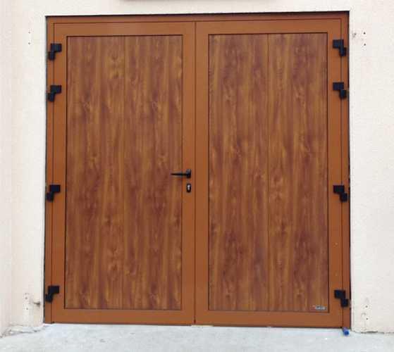 Porte garage battante Aludoor -Cotres d''Armor portebattante3