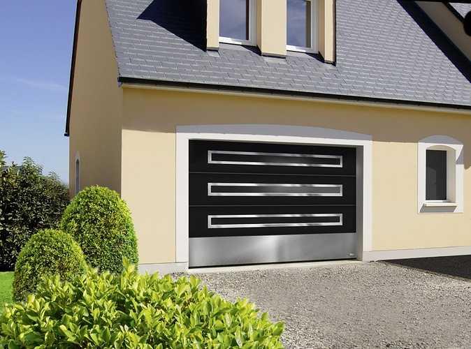 Porte garage plafond Aludoor- Plérin -22 porteplafond3