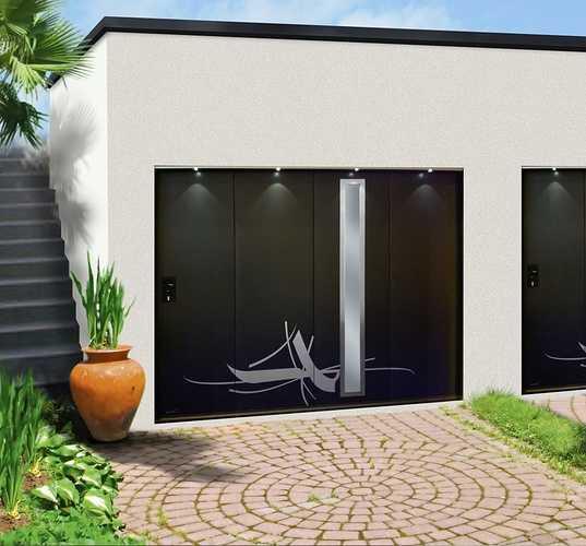 Porte garage latérale Aludoor- Plérin -22 portelaterale
