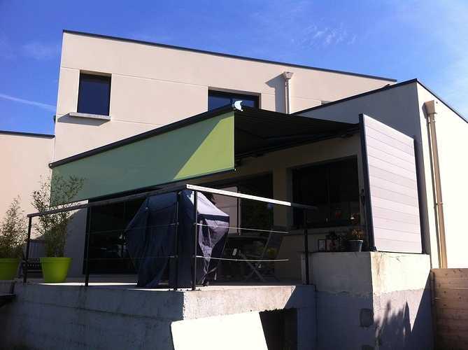 Store extérieur pour terrasse - Morieux - Lamballe - Menuiserie 0