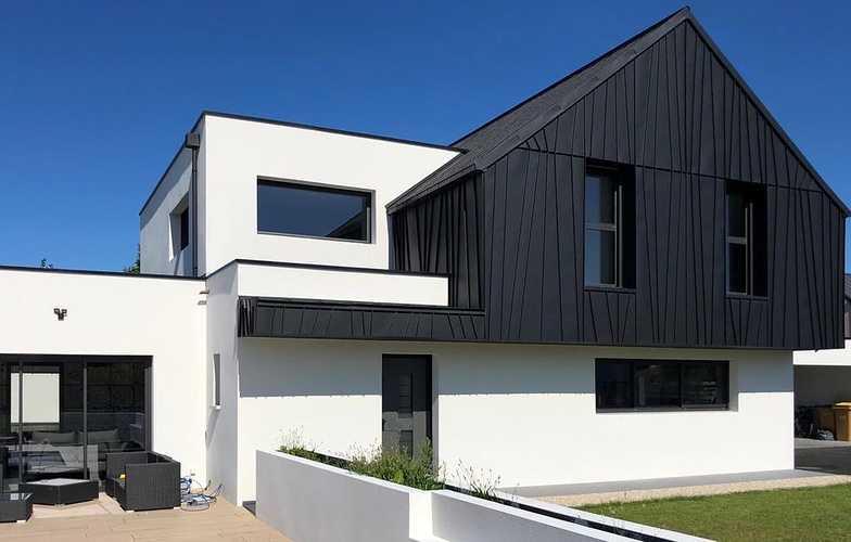 Menuiseries maison contemporaine - Pordic -22 0