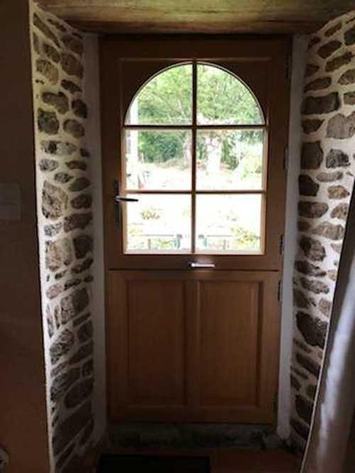 Installation - rénovation porte type fermière - Plédéliac img24831001