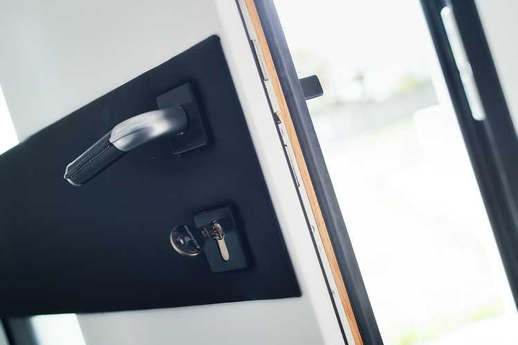 Portes, fenêtres, volets, porte de garage - Maison architecte- Pordic dsc8363