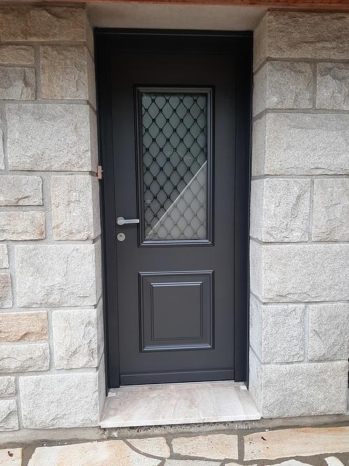 Rénovation porte d''entrée en dépose totale - Trégueux 0