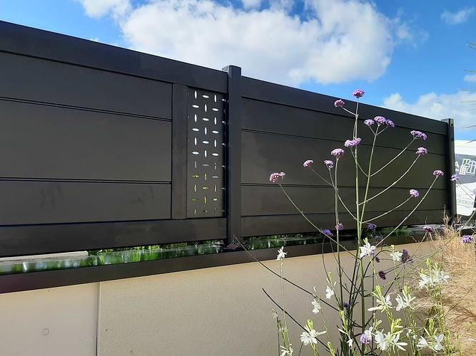 Installationportail coulissant motorisé, portillon & clôtures en aluminium- Plérin - 22 20200706173432