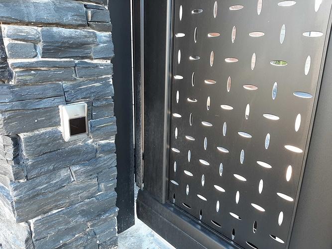 Installationportail coulissant motorisé, portillon & clôtures en aluminium- Plérin - 22 20200730101836